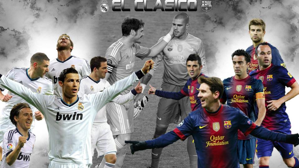 el clasico - real madrid vs barcelona
